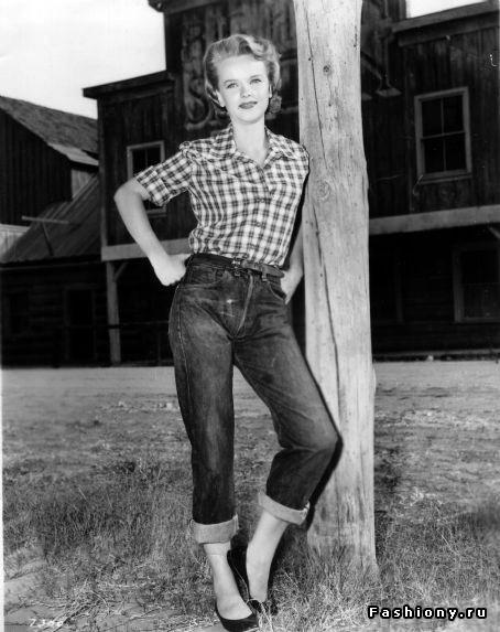 50s girl fashion pants