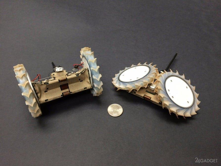 Робот-оригами для исследования Марса (3 фото + видео)