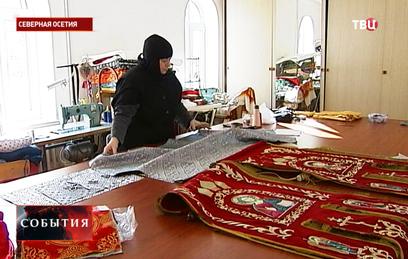В монастырях Северной Осетии готовятся встретить Рождество
