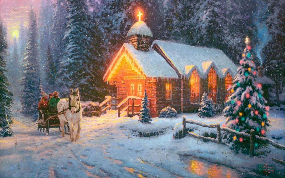 Поучительная сказка «Накануне Рождества»