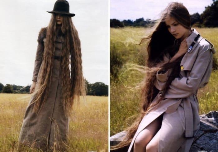 Фотосессия для журнала мод | Фото: persona.rin.ru