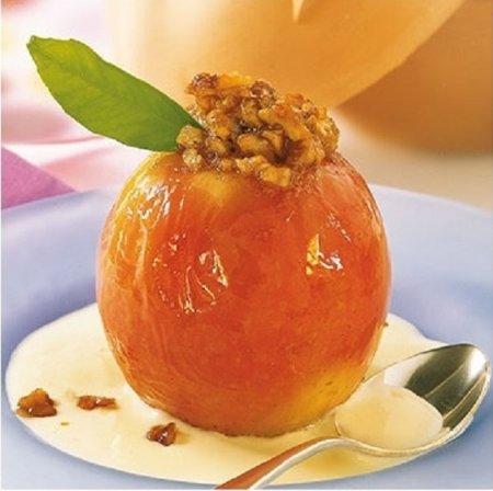 Как запекать яблоки в духовк…