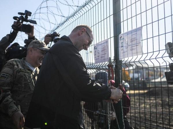 На Харьковщине приостановлено строительство «Стены» с Россией — нет денег