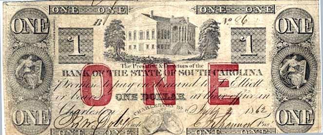 Доллар из Южной Каролины