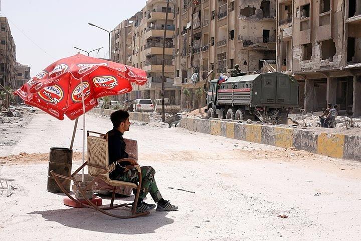 Эксперты ОЗХО посетили сирийскую Думу для сбора образцов на месте возможной химатаки