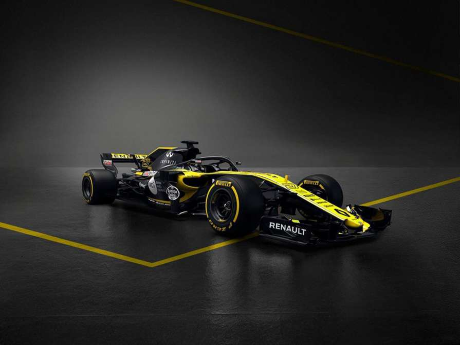 Renault представил болид на …