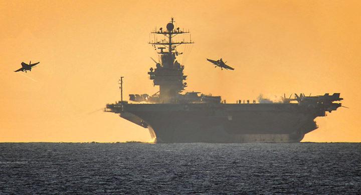 «Скорее бы оттуда уйти»: экипаж США, находящийся в Черном море
