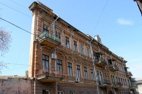 Необычный дом в Одессе