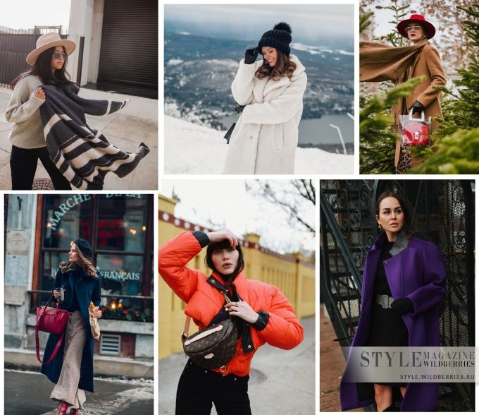 Зима в модных блогах: Новые образы от любимых модниц!