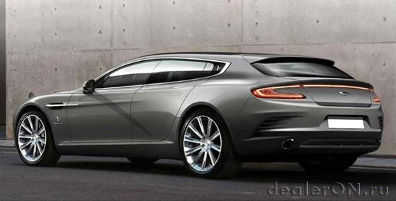 Bertone растянул Aston Martin Rapide