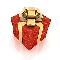 Фото коробок с подарками 75
