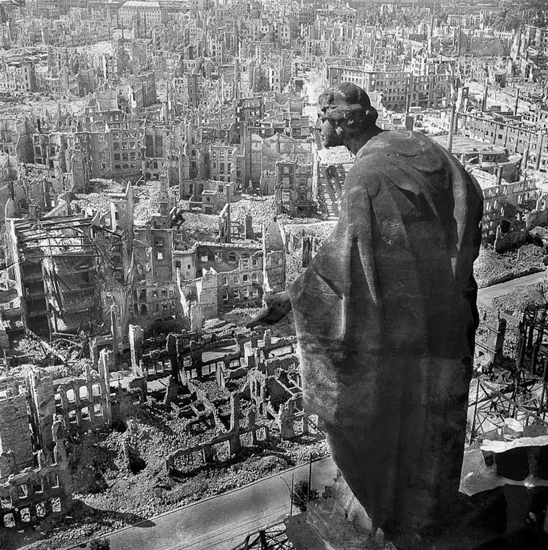 Как восстанавливали Дрезден