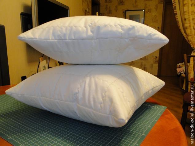 Сшить обычную подушку своими руками 172