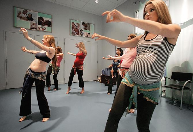 Танцевальные движения для беременных 15