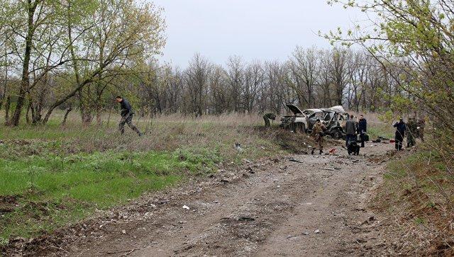 ЛНР сбила украинский беспилотник, снимавший передвижения машин ОБСЕ