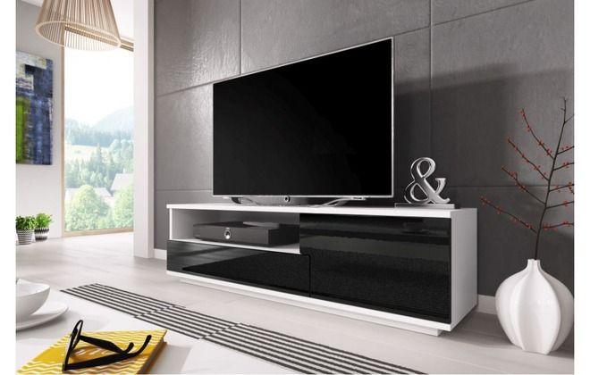 низкий комод под телевизор