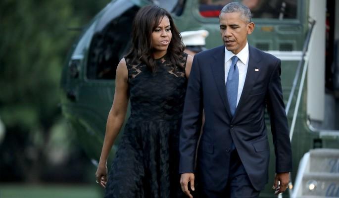 Мишель и Барак Обама потерял…