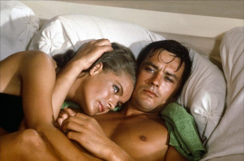 Ален Делон и женщины