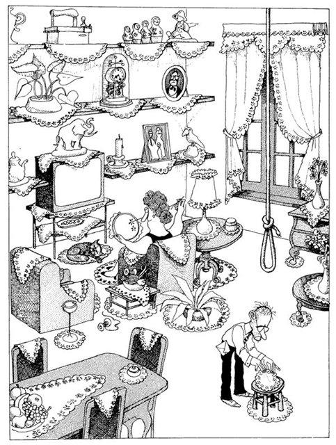 ВЕСЁЛЫЕ МИНУТКИ. Дневник мужа вышивальщицы