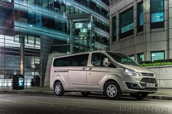 Ford привозит в Женеву полностью новый Tourneo