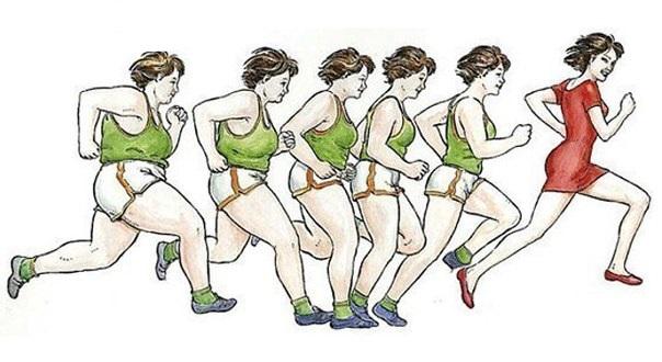 как бегать чтобы похудеть отзывы