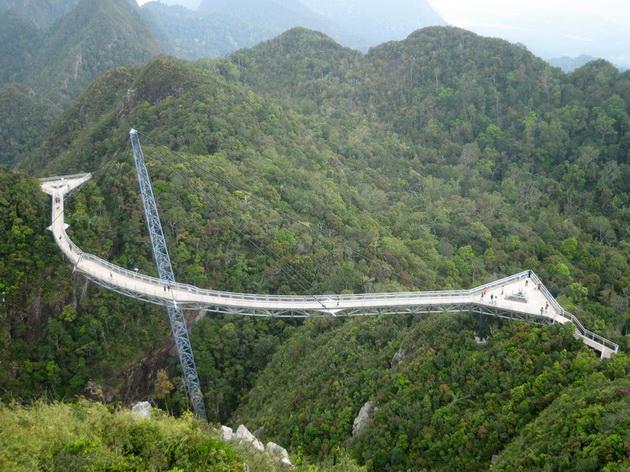 Небесный мост (Langkawi Sky Bridge). Малайзия