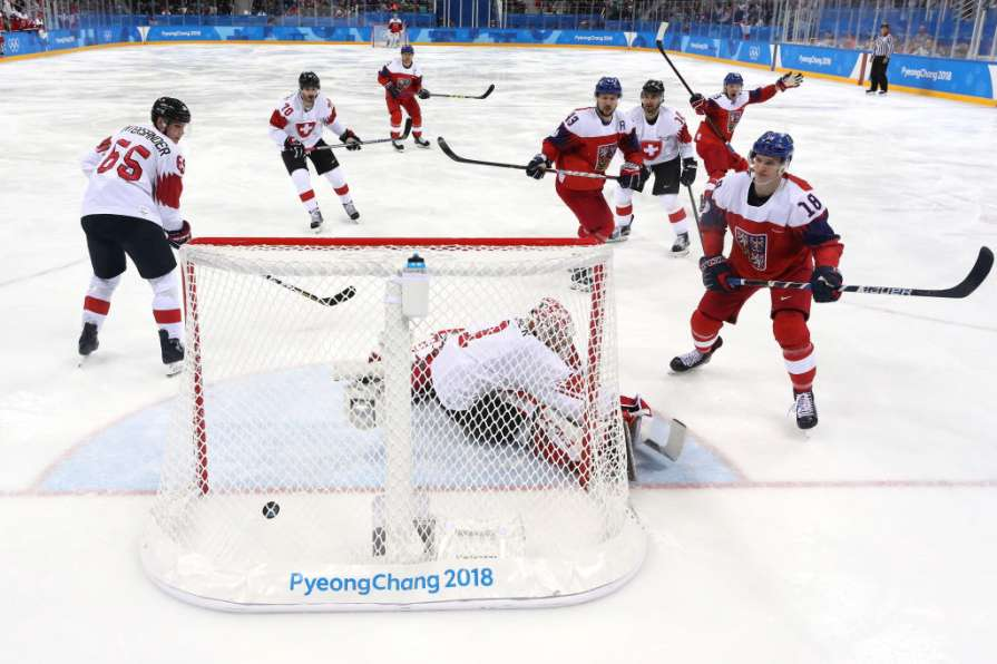 Чехия вышла в четвертьфинал …
