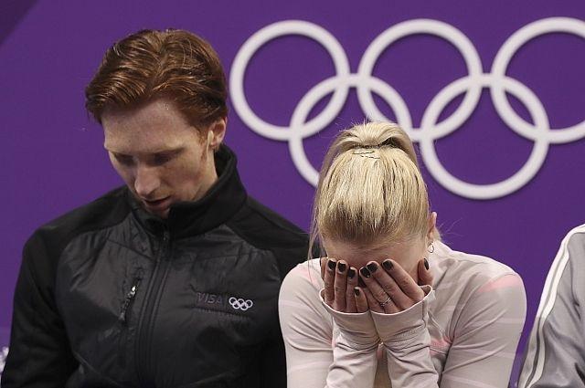 Фигуристы Тарасова и Морозов сообщили, что не справились с нервами на ОИ