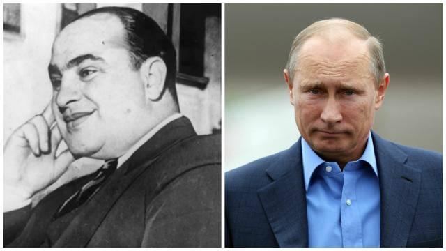 Ускользающий гангстер: Путина сравнили с Аль Капоне