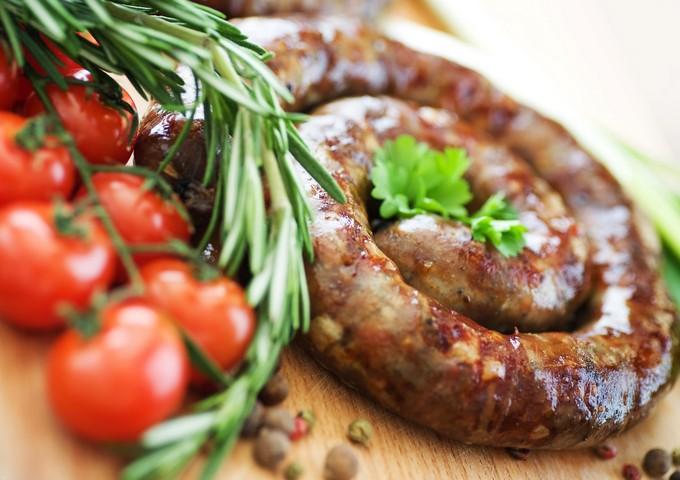 Домашняя колбаса «Нежная»