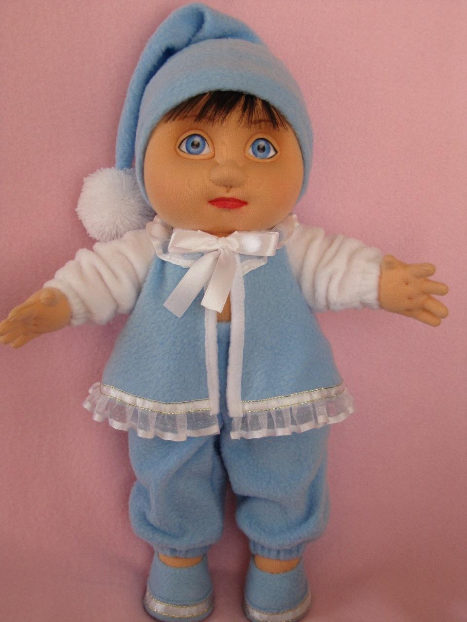 Кукла малыш своими руками из ткани