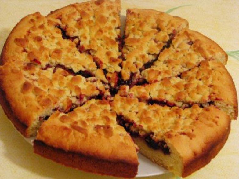 Рецепт пирога с вареньем / рецепт с фото 43