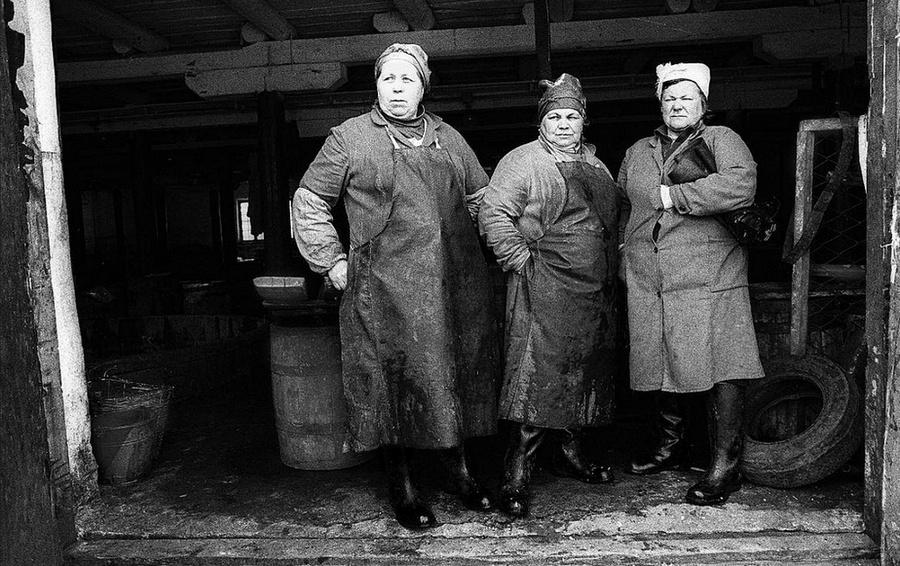 Жизнь в советских фотографиях Владимира Лагранжа