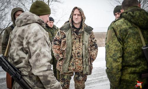 Захар Прилепин собрал в ДНР свой батальон и определил цель
