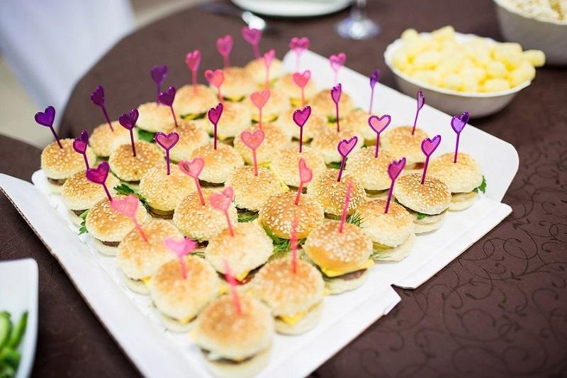 маленькие бургеры для вечеринки