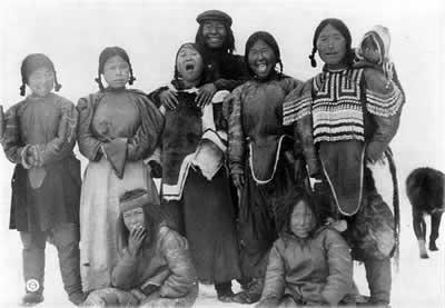 Инуиты, жители Аляски