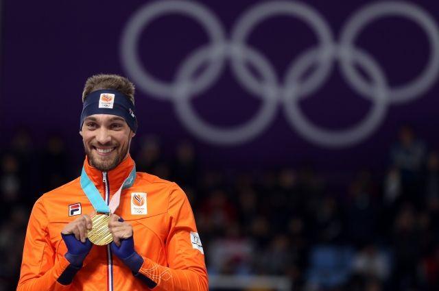 Голландец конькобежец Кьелд Нейс одержал победу на ОИ дистанции 1000 м
