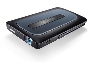 Миниатюрный проектор Aiptek MobileCinema A50P