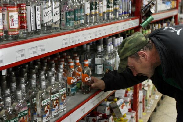 Минздрав России предлагает изменить порядок продажи алкогольной продукции