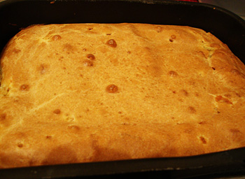Пирог из теста на кефире