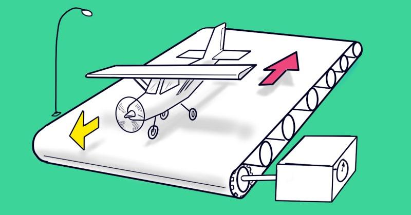 Сможет ли взлететь самолет с…