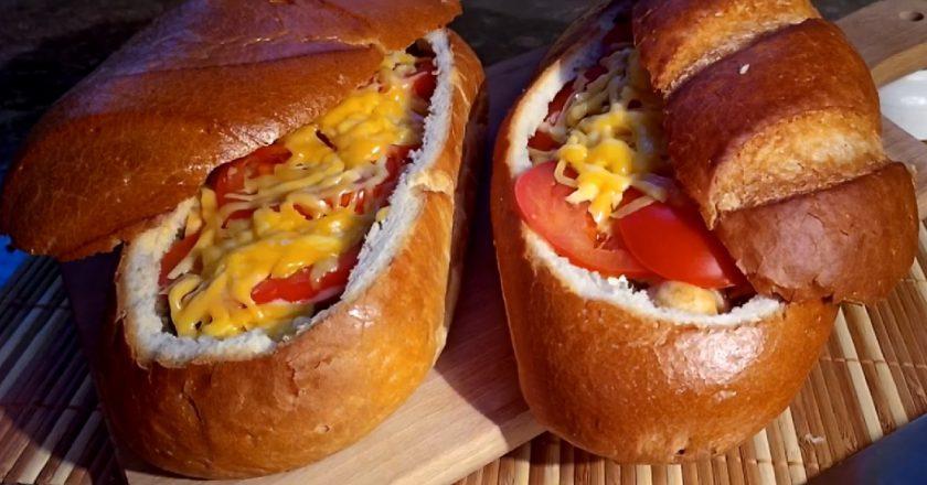 Фаршированный батон: проще, чем закусочный пирог