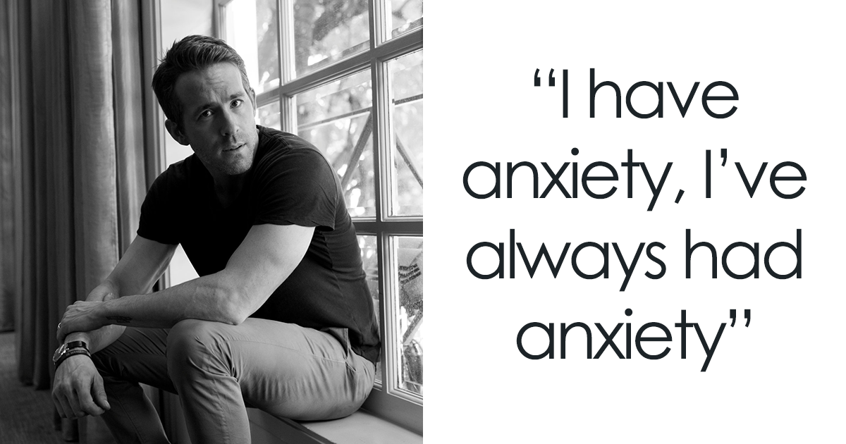 Ryan Reynolds Stuns Everyone By Revealing Intimate Details About His Lifelong Battle With Anxiety