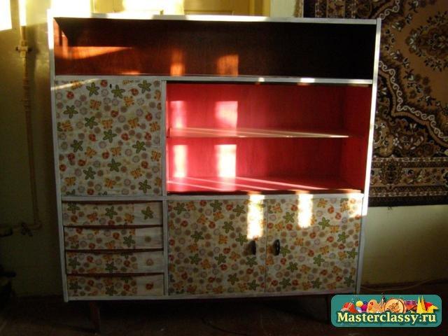 Переделка кухонных шкафов своими руками
