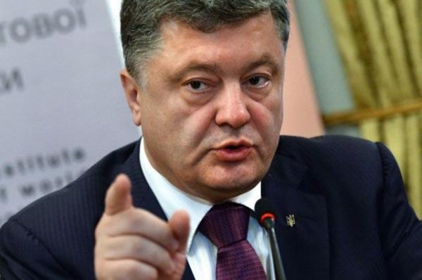 Порошенко: Блокада— это операция повытеснению Донбасса всостав России