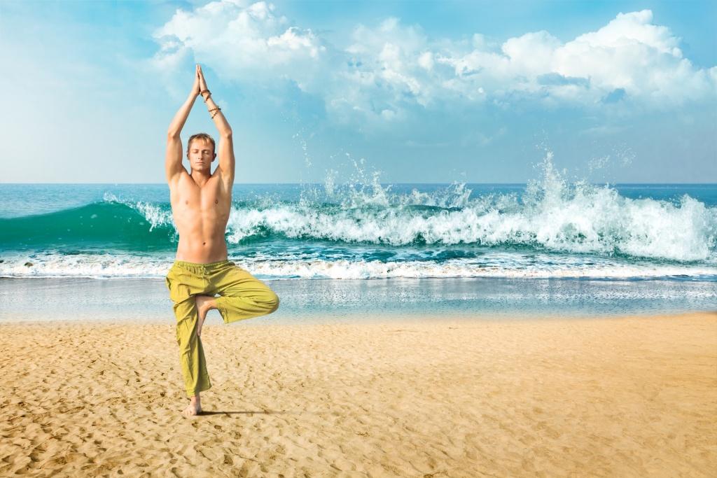 Упражнения динамической йоги