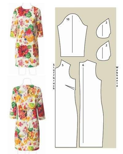 Простые выкройки платьев для сногсшибательного образа