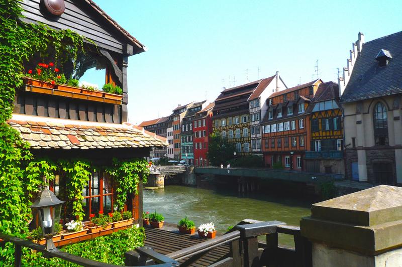 Страсбург символ примирения Франции и Германии