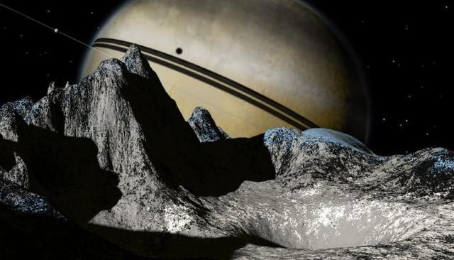 Инопланетяне живут на Сатурне