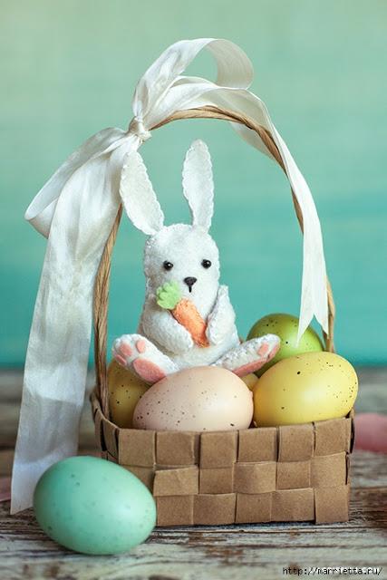 Пасхальный подарочный кролик…